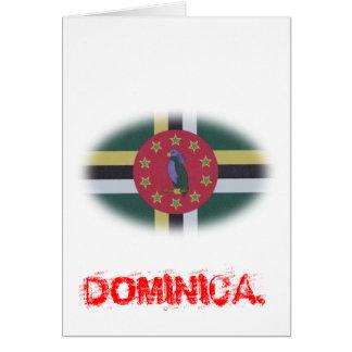 dominica flag.jpg cartão