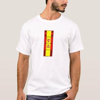 Dominó da espanha camiseta
