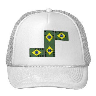 Dominó de Brasil Boné