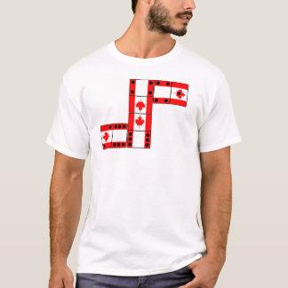 Dominó de Canadá Camiseta