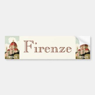 Domo da igreja de Florença Firenze Italia das viag Adesivos