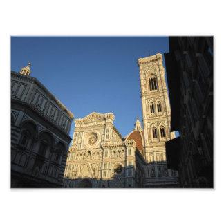 Domo do IL Florença Italia Impressão Fotográfica