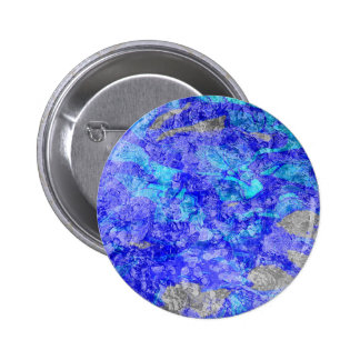 Don o Van Gogh azul de seda Bóton Redondo 5.08cm