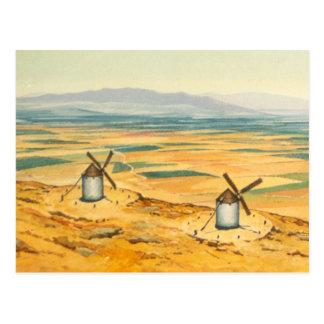 DON QUIXOTE - animação Fundo (1979) Cartão Postal