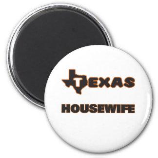 Dona de casa de Texas Ímã Redondo 5.08cm