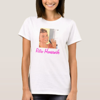 Dona de casa retro tshirts