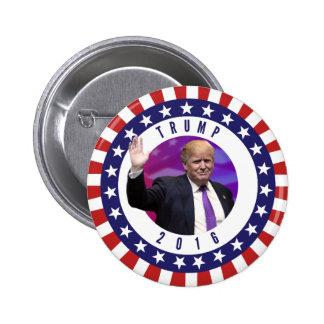 Donald Trump para o presidente Foto Retro Botão Bóton Redondo 5.08cm