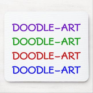 DOODLE-ART, DOODLE-ART, DOODLE-ART, DOODLE-ART MOUSE PAD