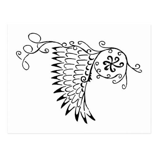 Doodle Cartao Postal