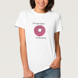 Doodle da rosquinha tshirts