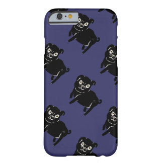 Doodle de Puggy Capa Barely There Para iPhone 6