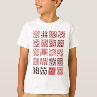 doodle patterns t-shirt