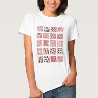 doodle patterns tshirt