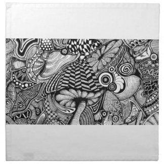 Doodles 2 - rabiscos 2 guardanapo