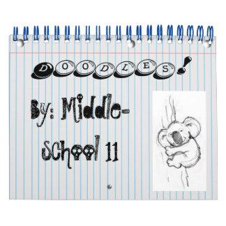 Doodles! Calendário