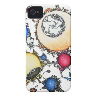 doodles capas para iPhone 4 Case-Mate