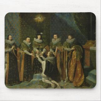 d'Orleans de recepção de Louis XIII Henri Mouse Pad