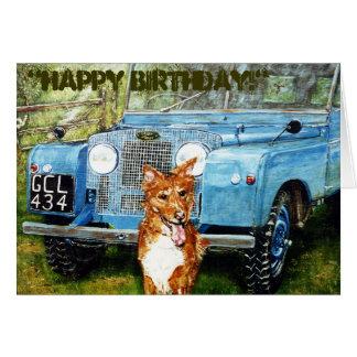 """Dos """"cartão ~Birthday dos amigos fazendeiros"""" Cartão Comemorativo"""