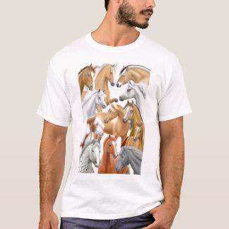 Dos cavalos t-shirt abundante