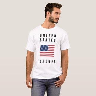 Dos Estados Unidos divisa para sempre Tshirt
