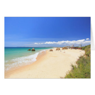 Dos Tres Irmaos do Praia Cartão Comemorativo