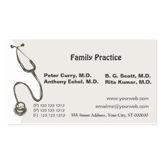 Doutor impressionante Médico Cartão De Visita