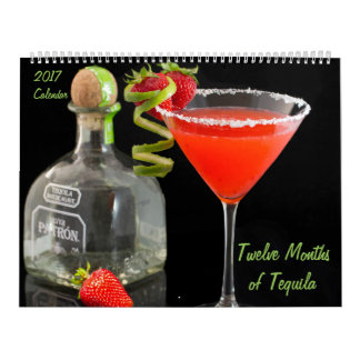 Doze meses do calendário do Tequila 2017