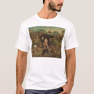 Doze tentações Daniel no antro dos leões (1877) Camiseta