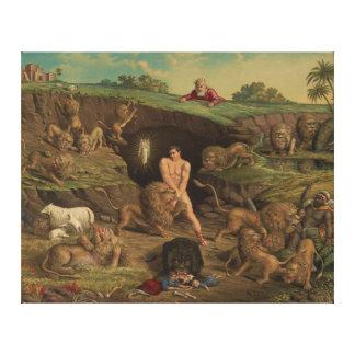 Doze tentações Daniel no antro dos leões (1877) Impressão Em Tela