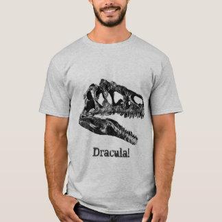 Dracula! Crânio do dinossauro do Allosaurus Tshirts