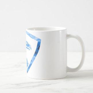 Dragão azul 1 do fogo caneca de café