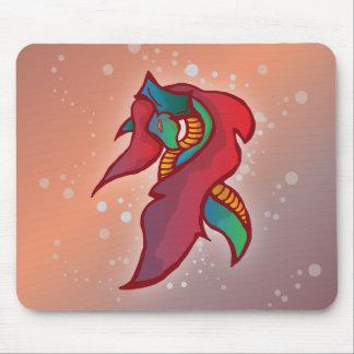 Dragão bonito do fogo - tapete do rato mouse pad