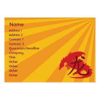 Dragão - carnudo cartão de visita grande