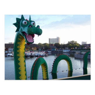 dragão cartão postal