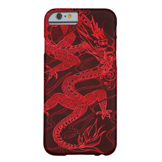 Dragão chinês do fogo capa barely there para iPhone 6