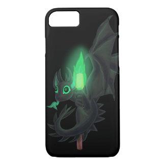Dragão com fogo verde capa iPhone 8/7