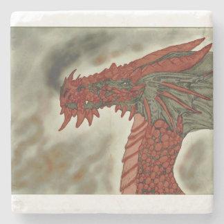 Dragão Coster do vulcão Porta Copos De Pedras