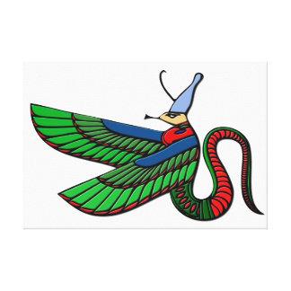 Dragão - criatura mythical de Egipto antigo Impressão Em Tela