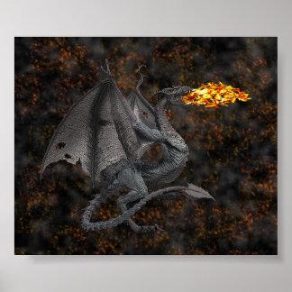 Dragão deRespiração Poster