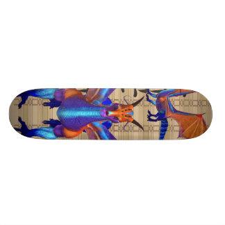 Dragão do arco-íris shape de skate 19,7cm