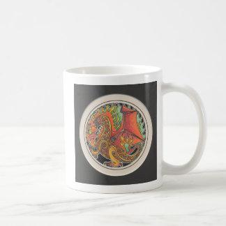 Dragão do fogo caneca de café