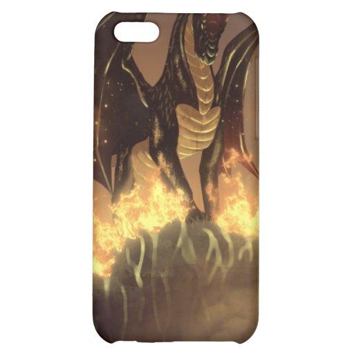Dragão do fogo capas para iphone5C
