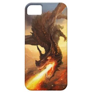 Dragão do fogo capa para iPhone 5