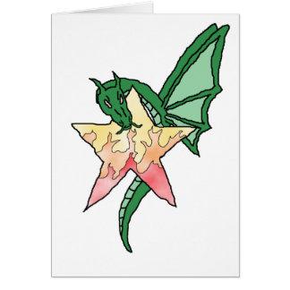 Dragão do fogo cartões
