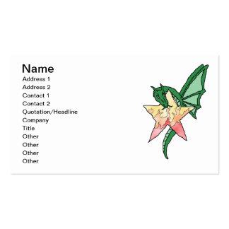 Dragão do fogo cartão de visita