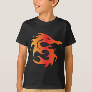 Dragão do fogo t-shirts