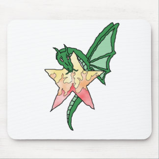 Dragão do fogo mouse pad