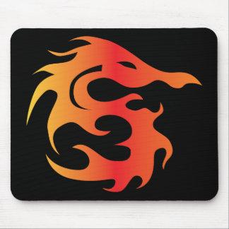 Dragão do fogo mousepad
