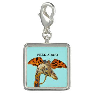 Dragão e girafa pingentes com foto
