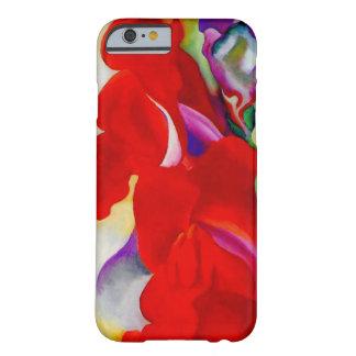 Dragão instantâneo do vermelho capa iPhone 6 barely there